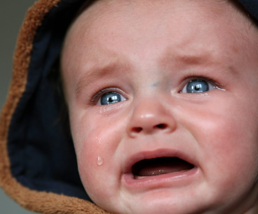 Baby huilt alleen maar?